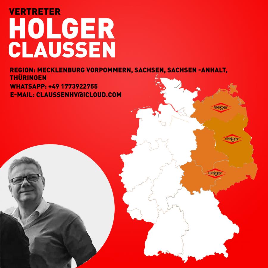 Vertreter Holger Claußen 1-1