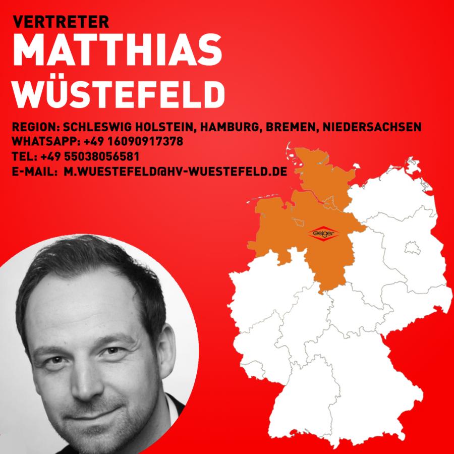 Vertreter Matthias Wüstefeld 1-1