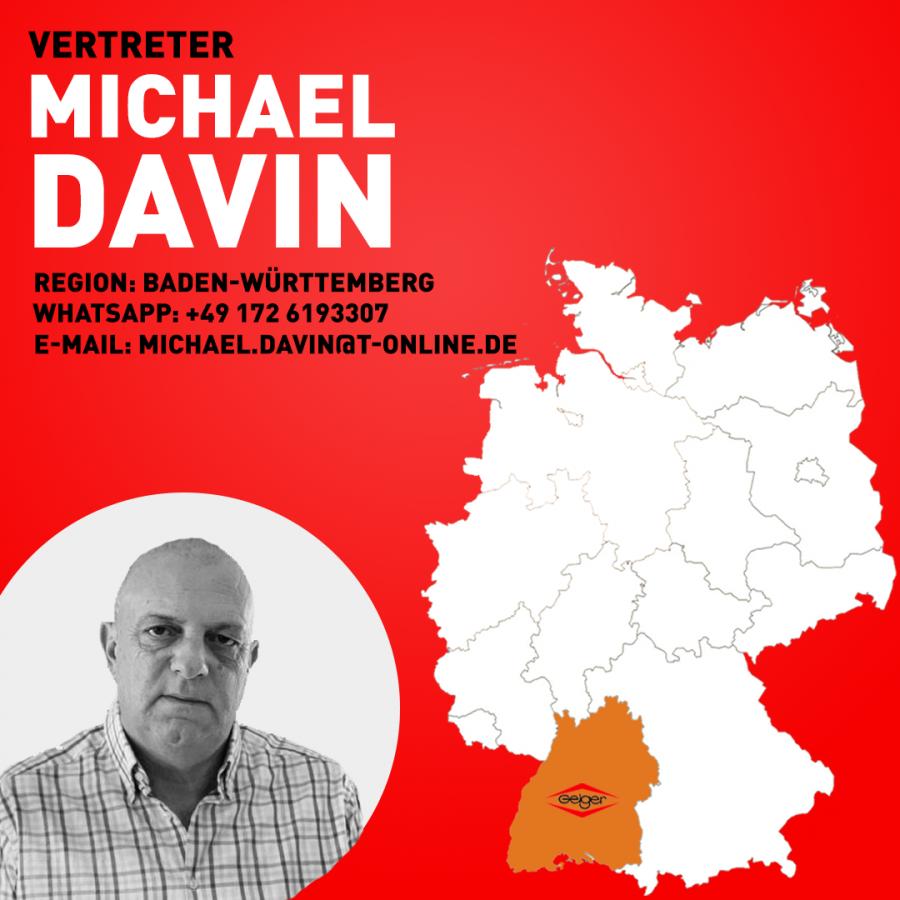 Vertreter Micheal Davin 1-1